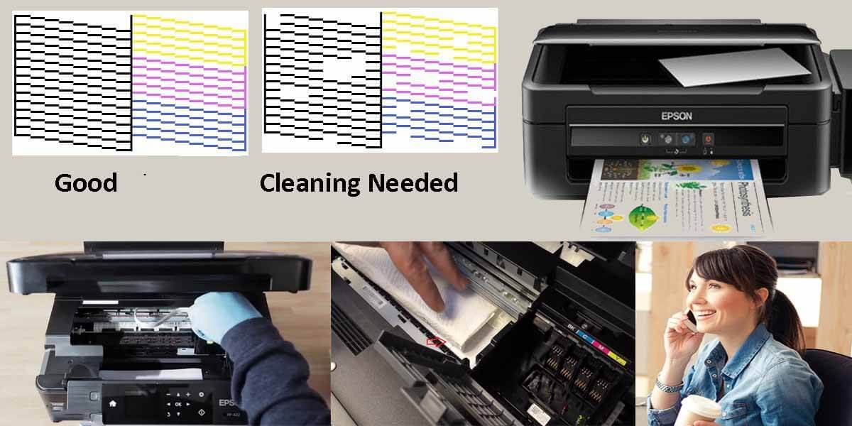 How to Clean Clogged Epson Print Head Nozzles with the latest ways?