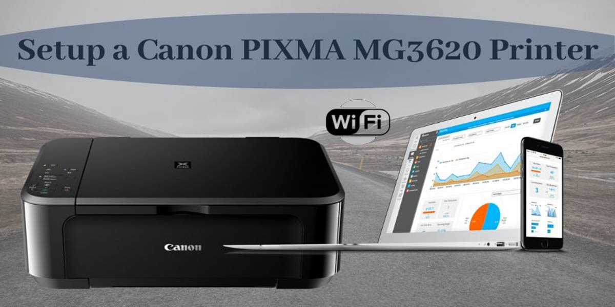 How to setup a Wireless Connection on Canon PIXMA MG3620 Printer?